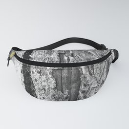 Carvings in Tree Trunk Gnarly Texture Pattern Fanny Pack