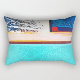 Swash: After the Wave Breaks Rectangular Pillow
