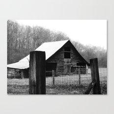 old barn 10 Canvas Print