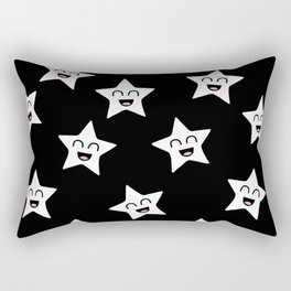 Happy Stars Rectangular Pillow