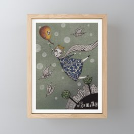 You can fly, Mary! Framed Mini Art Print