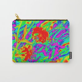 Psychedelic flower garden Carry-All Pouch