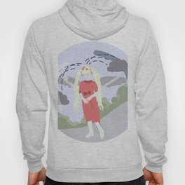 Nature-girl in globe Hoody