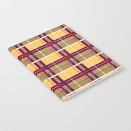Whatever Plaid Notebook