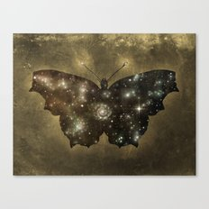 Cosmic Butterfly  Canvas Print