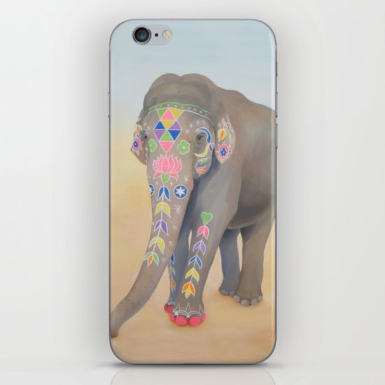 Painted Lady, Sujatha iPhone & iPod Skin