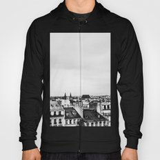 Upon the rooftops (B&W) Hoody