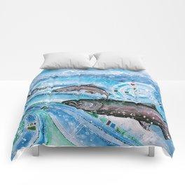Elusive Kings of Alaska Comforters