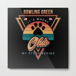 Bowling Green Ohio Metal Print