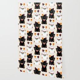 Maneki Neko - Lucky Cats Wallpaper