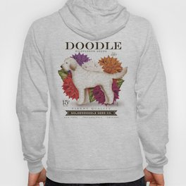 Doodle Goldendoodle wildflower seed packet artwork by Stephen Fowler Hoody