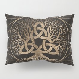 Tree of life -Yggdrasil with Triquetra Pillow Sham