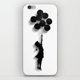 Banksy Fly Away  iPhone Skin
