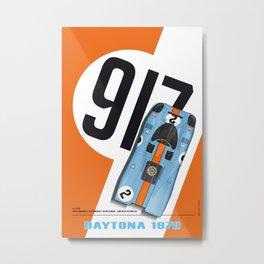 917 Rodriguez-Kinnunen Orange Metal Print