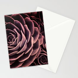 DARKSIDE OF SUCCULENTS I-C Stationery Cards