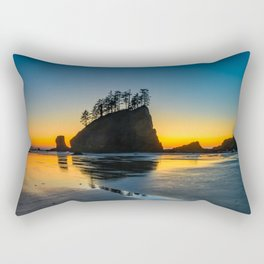 steps to eternity Rectangular Pillow