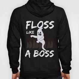 Halloween Ghost Floss Like A Boss Youth Dance Hoody