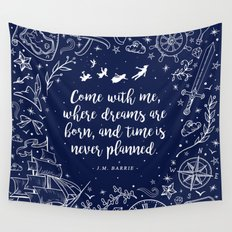 Where dreams are born Wall Tapestry