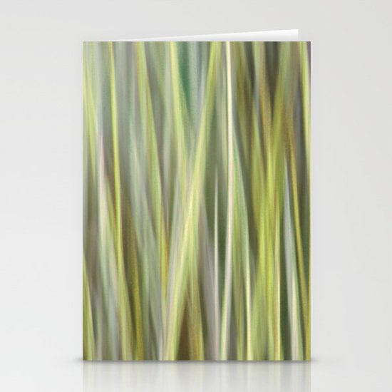 Green Abstract Stationery Cards