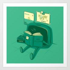 I will find the way! Art Print