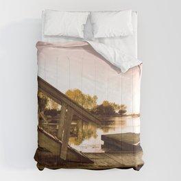 Cottage Sky Comforters