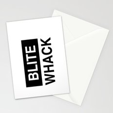 BLITE WHACK Stationery Cards