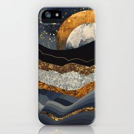 Metallic Mountains iPhone Case