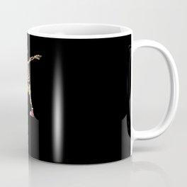 Funny Xmas Skeleton Dance Coffee Mug