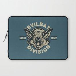Evil Bat Division Laptop Sleeve