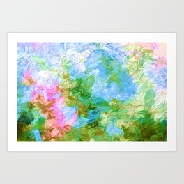 Gentle Persuasions Art Print