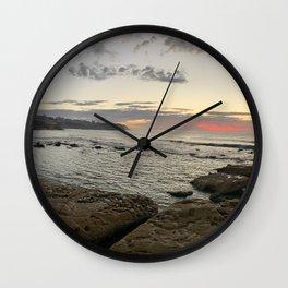 Bronte Beach, NSW, Australia Wall Clock