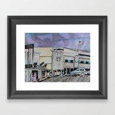 Jasper Avenue: Old Streets Grown Anew  Framed Art Print