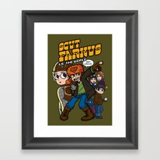 Scut Farkus vs. The World Framed Art Print