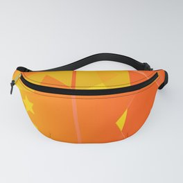 hoe is afraid of orange and yellow Fanny Pack