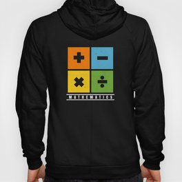 Math Science Shirt Add,Substract,Multiply,Devide Hoody