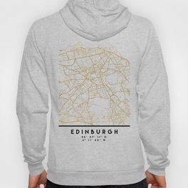 EDINBURGH SCOTLAND CITY STREET MAP ART Hoody