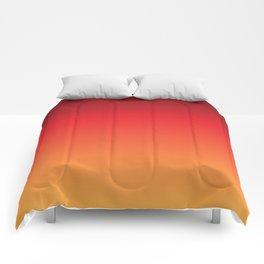 Hot Pepper Gradient Comforters