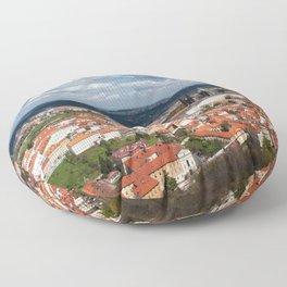 Prague Panorama Floor Pillow