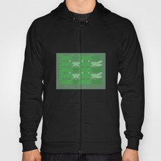green dragonflies Hoody