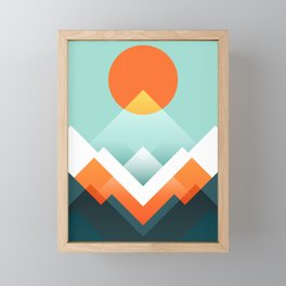 Everest Framed Mini Art Print
