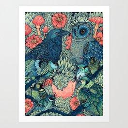 Cosmic Egg Art Print