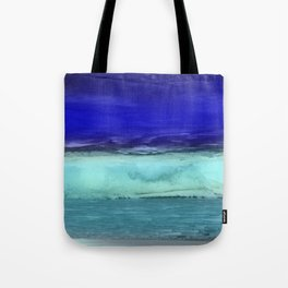 Midnight Waves Seascape Tote Bag