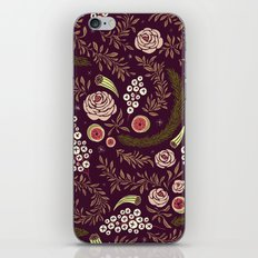 Autumn Walk Floral iPhone & iPod Skin