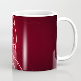 Red Neon Meanwhile Coffee Mug