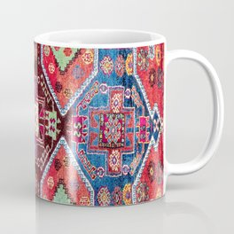 Malatya  Antique Turkish Rug Print Coffee Mug