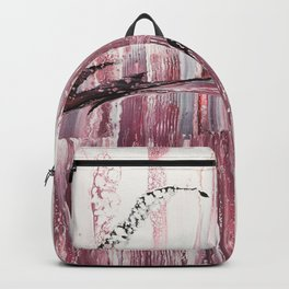 Pale pink Backpack
