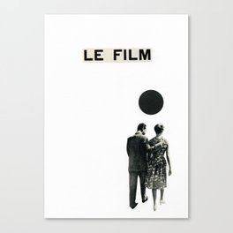 Le Film Canvas Print