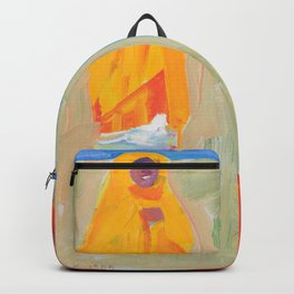 Akseli Gallen-Kallela - Nandi-heimoa - Digital Remastered Edition Backpack