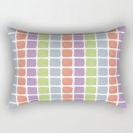 Watercolour Blocks 1 Rectangular Pillow