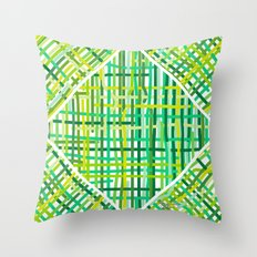 Springtime Woven. Throw Pillow